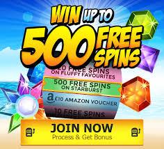 Get 500 Spins
